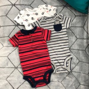 carter's six month onesies